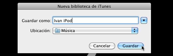Cómo usar varias bibliotecas de iTunes en una sola computadora - itunes-multiples-bibliotecas-4