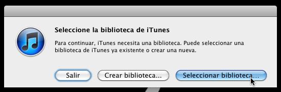 Cómo usar varias bibliotecas de iTunes en una sola computadora - itunes-multiples-bibliotecas-8
