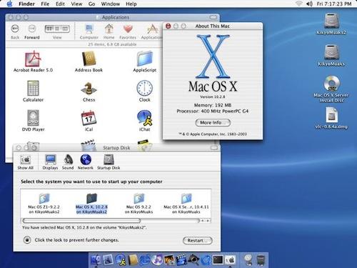 macosx jaguar La historia de Mac OS X en imágenes