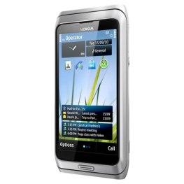 Nokia E7 llega en Abril a América latina - nokia-e7-silver-white-front-r
