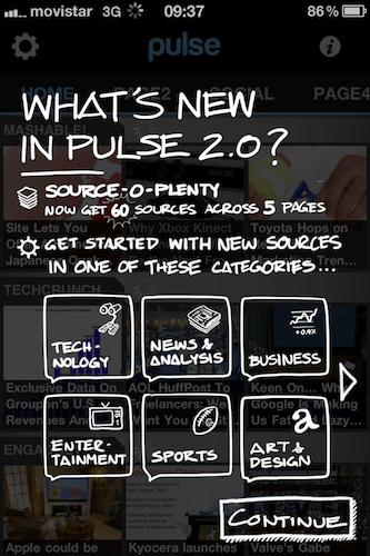 Pulse News se actualiza a su versión 2.0 para iPhone y Android - pulse-news-mini-iphone-2.0