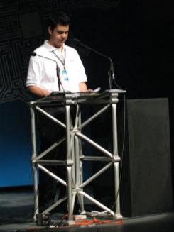 Experiencias del SISCTI 36, evento de tecnología del Tecnológico de Monterrey - siscti-36-cesar-gutierrez-presidente