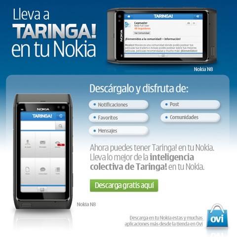 Taringa! en tu Nokia - taringa-nokia
