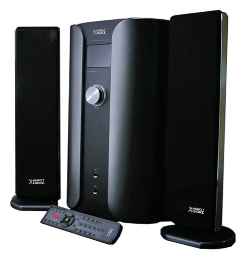 Equipos de Sonido de Perfect Choice - Bocinas-2-1-Power-Sound-perfect-choice