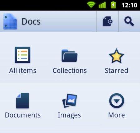 Google lanza una aplicación nativa de Google Docs para Android