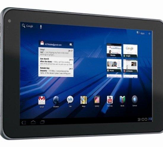 LG lanza su tablet G-Slate al mercado - LG-G-Slate-con-pantalla-3D