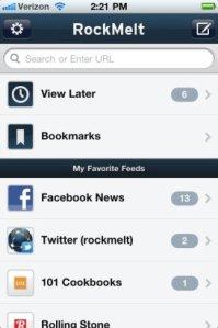 RockMelt para iPhone espera aprobación de Apple [ACTUALIZADO]
