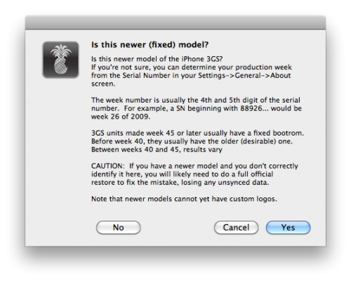 Como hacer Jailbreak untethered a iOS 4.3.1 con redsn0w - advice-iphone-3gs