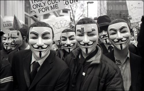 Sony sufre un ataque de Anonymous y Playstation Network sufre las concecuencias - anonymous2