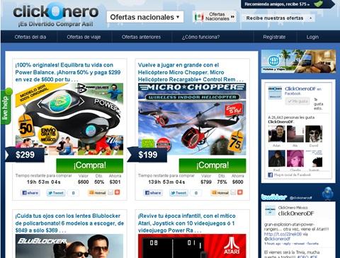 ClickOnero en México, cupones con descuento cada día - clickonero-mexico