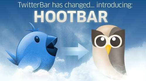 Hootsuite compra la Twitter Bar y la hace Hootbar