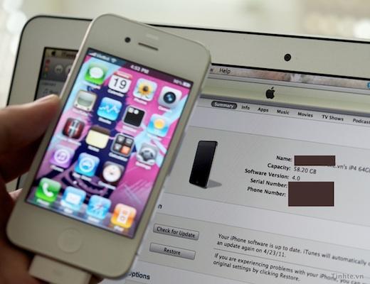 Aparece un iPhone 4 Blanco con un supuesto iOS 5 y exposé [Video] - iphone-4-blanco-ios-5