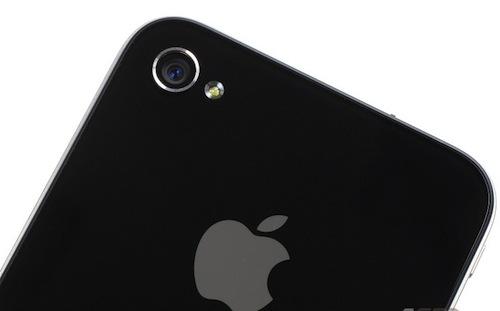 Cámara Sony de 8 megapixeles en el iPhone 5? - iphone-4-camera-flash