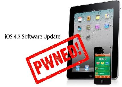Jailbreak para iOS 4.3.1 Untether disponible - jailbreak_43
