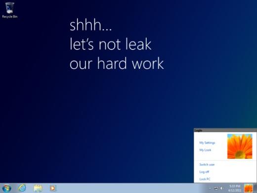 Se filtra en la red una versión preliminar de Windows 8 - windows-8-leaked