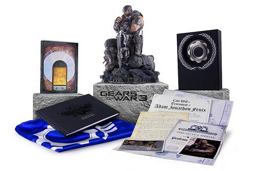 """Impresionante contenido de las ediciones """"limitada"""" y """"épica"""" de Gears of War 3 - Imagen-enviada"""