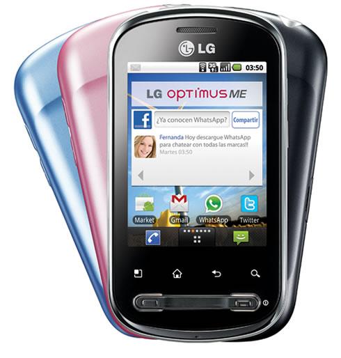 LG Optimus ME P350 con Android 2.2 - LG-ME-P350