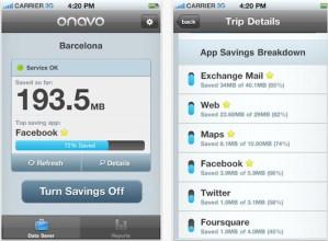 Reduce el consumo de tu plan de datos con Onavo para iPhone