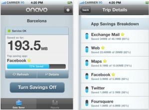 Reduce el consumo de tu plan de datos con Onavo para iPhone