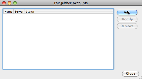 agregar cuenta jabber Como agregar tu cuenta de MSN (Hotmail) a iChat
