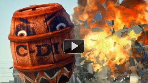 angry barrels Angry Barrels, parodia de Angry Birds en vida real [Video]
