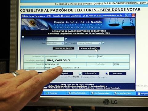 Argentina vivirá sus primeras votaciones por Internet - argentina-votaciones-internet