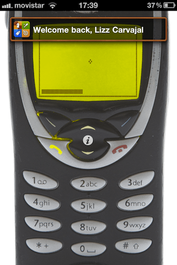 Snake 97, un juego clásico de Nokia ahora en tu iPhone - la-foto-1