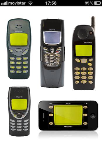 Snake 97, un juego clásico de Nokia ahora en tu iPhone - la-foto1