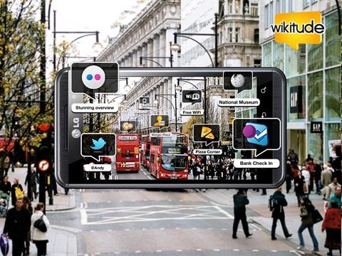 LG Optimus incorpora realidad 3D aumentada - lg-optimus-wikitude