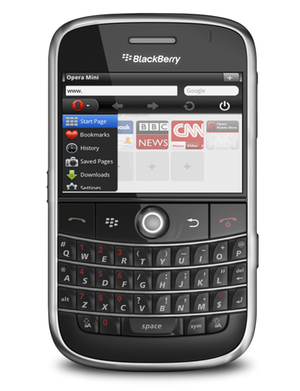 opera mini 6 blackberry Opera Mini 6 para BlackBerry disponible