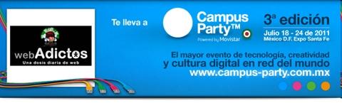 Gana entradas para Campus Party México 2011 con WebAdictos - webadictos-campus-party-mexico-2011