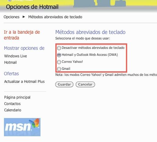 Activar atajos de teclado en hotmail 3 Hotmail se actualiza y ahora incluye atajos de teclado. Te decimos como activarlos