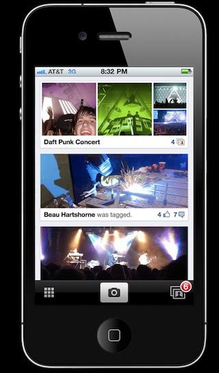 Facebook prepara una aplicación para compartir fotos para iPhone - Aplicacion-de-facebook-para-compartir-imagenes