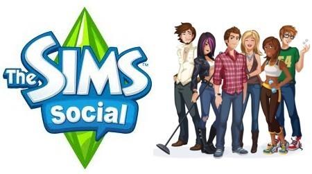 Los Sims llegaron a Facebook con The Sims Social - Facebook-The-Sims-Social