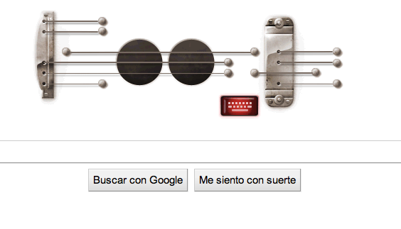 Google homenajea a Les Paul con un Doodle musical interactivo (lista de canciones incluida) - Google-Doodle-Les-paul