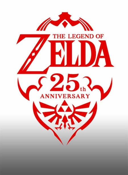 [E3 2011] Nintendo celebra a lo grande los 25 años de Zelda - Legend-of-Zelda-25th-Anniversary-Logo