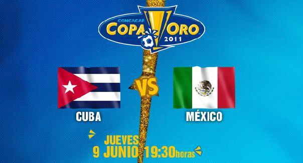 Mexico vs Cuba en vivo, Copa de Oro 2011 - Mexico-vs-Cuba