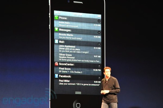 WWDC 2011 Resumen definitivo acerca de iOS 5 - Notifications-center