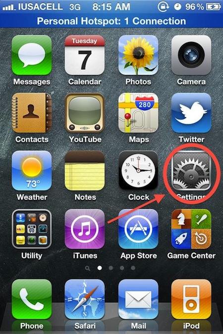 activar icloud 1 Como activar las descargas automáticas de iCloud en el iPhone, iPad e iPod Touch