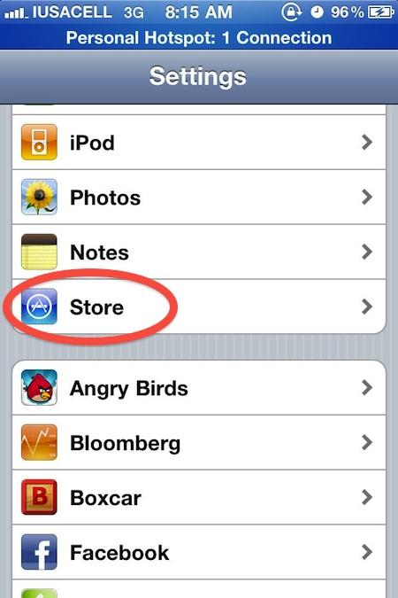 activar icloud 2 Como activar las descargas automáticas de iCloud en el iPhone, iPad e iPod Touch