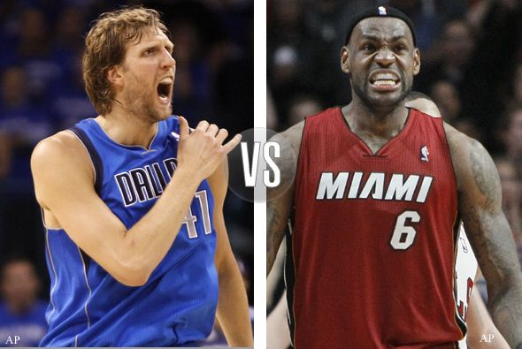 Finales NBA en vivo, sexto partido - dallas-maveriks-versus-miami-heat_590x395