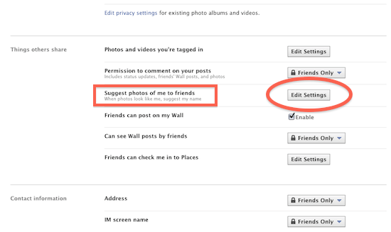 Como desactivar el etiquetado por reconocimiento facial de Facebook - desactivar-reconocimiento-facil-3