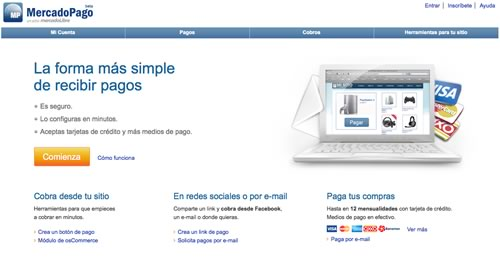 mercado pago Nueva versión de MercadoPago que permite cobrar en otros sitios