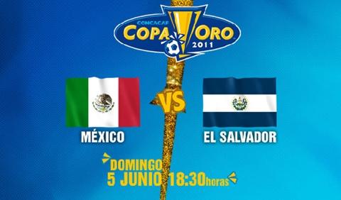 mexico el salvador en vivo copa oro 2011 México vs El Salvador en vivo, Copa de Oro 2011