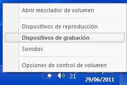 volumen Activar la mezcla estéreo en Windows