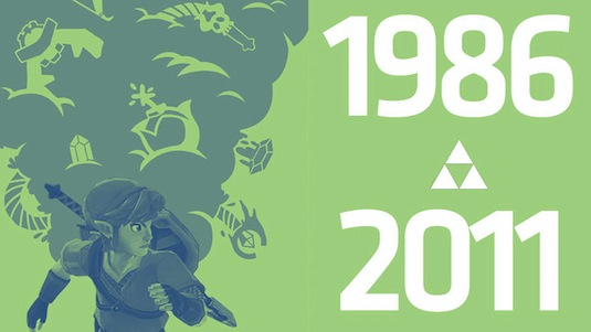 [E3 2011] Nintendo celebra a lo grande los 25 años de Zelda - zelda-25