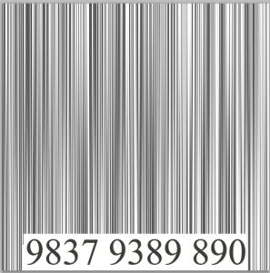 Como hacer un código de barras en Photoshop