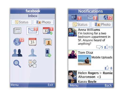 Facebook lanza Facebook For Every Phone, un cliente Java de la red social