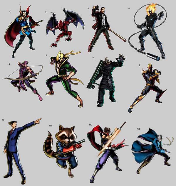 Nuevos personajes en ultimate marvel vs capcom 3 Capcom anuncia Ultimate Marvel Vs Capcom 3, con 12 nuevos personajes