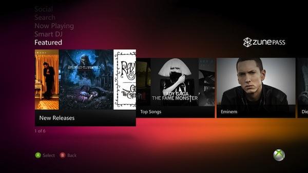 Microsoft dotará a Zune Marketplace soporte para Kinect